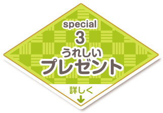 special3 うれしいプレゼント