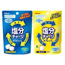 小袋タイプ 塩分チャージタブレッツ (スポーツドリンク味 & 塩レモン味)