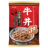 S&B どんぶり党 牛丼 (120g×3個)×8袋