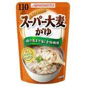 腸の奥まで届く食物繊維 / 味の素 スーパー大麦がゆ 鶏とホ...