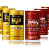 【120本】ワンダ 金の微糖 缶185g/ワンダ モーニングショット 缶185g(CVS用)