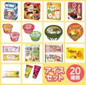 【20個】アイスクリーム20種セット
