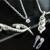 [イヤリング]天然ダイヤモンド 4点!豪華福袋<鑑別書付>天然ダイヤ計0.4ctプラチナジュエリーセット