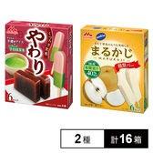 やわり 羊羹風アイス&宇治抹茶氷 / サンキスト まるかじ 和梨バー