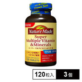 【3個セット】ネイチャーメイド スーパーマルチビタミン&ミネラル 120粒