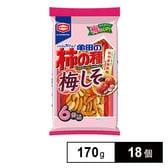 亀田 亀田の柿の種梅しそ6袋詰 170g