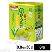 伊右衛門 インスタント玄米茶スティック30P 24g(0.8g×30袋)×6箱
