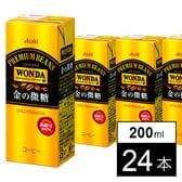WONDA 金の微糖 200ml×24本