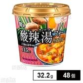 Pho you 贅沢 酸辣湯フォーカップ 32.2g(1食入り)×48個
