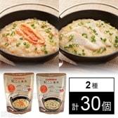 蒟蒻雑炊 鯛/蟹