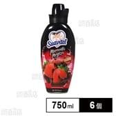 【6個×750ml】スアビテル 柔軟仕上剤 ストロベリーチョコレート