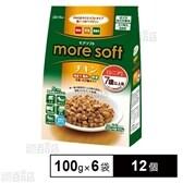 【12セット】アドメイト more soft チキン シニア 600g(100g×6袋)