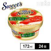 【24個】明治 エッセルスーパーカップ Sweet's 苺ショートケーキ