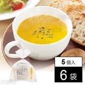 【6袋】北海道産かぼちゃととうもろこしポタージュ180g×5個