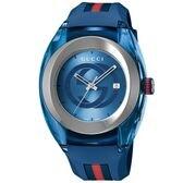 GUCCI  SYNC【YA137104A】メンズ腕時計 ブルー