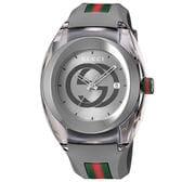 GUCCI  SYNC【YA137109A】メンズ腕時計 グレー