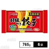 【6袋】 大阪王将 羽根つき餃子No.44D 765g