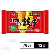 【12袋】 大阪王将 羽根つき餃子No.44D 765g