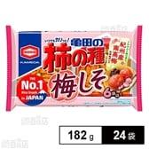 亀田の柿の種 梅しそ 6袋詰 182g