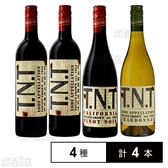 【4本】カリフォルニアワイン T.N.T赤白セット 750ml