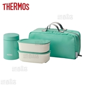 [800ml/ミント] サーモス(THERMOS)/真空断熱スープランチセット/JEA-800-MNT