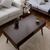 【ウォルナット】暮らしに馴染む収納便利な、しまうテーブル