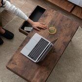 【ラスティック】暮らしに馴染む収納便利な、しまうテーブル