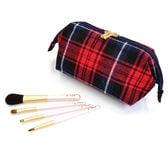 クリスマス限定 熊野化粧筆4本セットポーチ付き