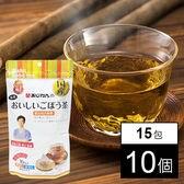あじかんのおいしいごぼう茶 15包x10個(計150包)