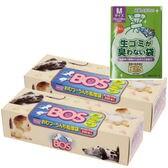 【2個】防臭袋 BOS(ボス) ボックスタイプ おむつ・うんち処理用 200枚入※Mサイズ2枚おまけ