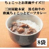 【8袋】三田屋総本家 黒毛和牛の欧風ちょこっとビーフカレー