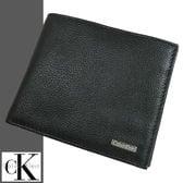 Calvin Klein/カルバン・クライン 本革レザー二つ折り財布 79215