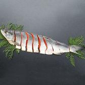 【650g(3分割真空包装)】北海道産新巻鮭姿半身切身