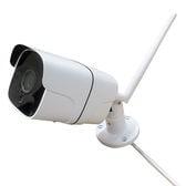 Wi-Fi接続スマホ操作 レコーダー搭載高性能防犯カメラ/高機能多数搭載のオールインワン型防犯カメラ
