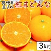 【約3kg(3kg箱×1)】愛媛県産 紅まどんな(化粧箱入)