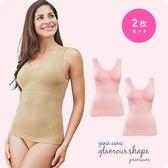 【2枚セット】【3Lサイズ】グラマーシェイププレミアム ピンク・ピンク
