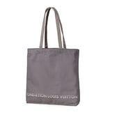【FONDATION LOUIS VUITTON】美術館 限定トートバッグ #Grey Canvas