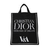 【Christian Dior】V&A博物館 限定トートバッグ【黒】日本未入荷