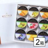 【2箱(計18個)】銀座千疋屋 銀座ゼリーB(包装済み)