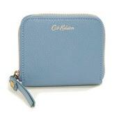 [CathKidston]折り財布 ブルー MINI CONTINENTAL WALLET