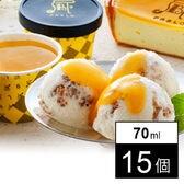 【計15個】チーズタルト専門店PABLO チーズタルトアイス(AH-PC15)