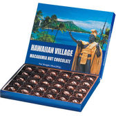 【6箱】ハワイアンビレッジ・マカダミアナッツチョコレート(30粒入)