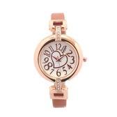 細ベルトで手首の華奢感をUP 愛されハートが文字盤に煌めく腕時計 SRF2-CAM レディース腕時計