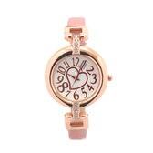 細ベルトで手首の華奢感をUP 愛されハートが文字盤に煌めく腕時計 SRF2-PNK レディース腕時計