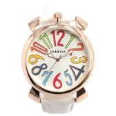 上部リューズ式 45mmビッグケース SRF9L-PGWH メンズ腕時計