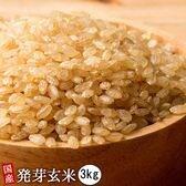【3kg(500g×6袋)】国産発芽玄米 (雑穀米・チャック付き)