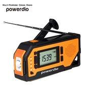 防災多機能充電ラジオライトEX