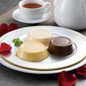 【計9個】「ホテルオークラ」2種のプリンとチョコレートムース 各3個
