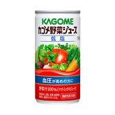 カゴメ 野菜ジュース 低塩 190g×6本