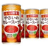 【18本】サントリー GREEN DA・KA・RA 1食分の野菜入り やさいのカレースープ 190g